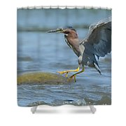 Into The Rapids Shower Curtain