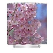 Into The Sakura - Japanese Cherry Blossom Shower Curtain