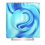 Into The Unknown Xcii Shower Curtain