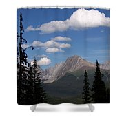 Into The Valley Shower Curtain