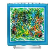 Intoxicating Peacock Shower Curtain