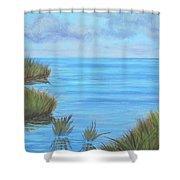 Intracoastal Waterway Shower Curtain
