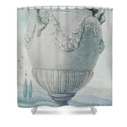 Invasion Of The Creatures Shower Curtain