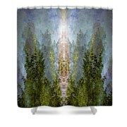Radiance Rising Shower Curtain