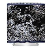 Inversion Art Work Shower Curtain