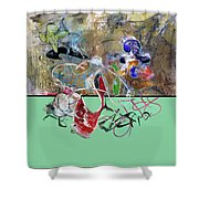 Invest In Imagination Shower Curtain