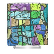 Invierno  Winter Shower Curtain