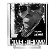 Invisible Man Movie Poster 1933 Shower Curtain