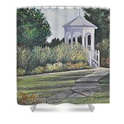 Invitation At Laurel Arts Shower Curtain