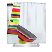Invitation No. 100 Shower Curtain