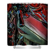 Invitation To Ride 1492 H_2 Shower Curtain