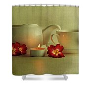 Invitation To Tea Shower Curtain