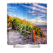 Inviting Path Shower Curtain