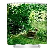 Inviting Steps In Ireland Shower Curtain