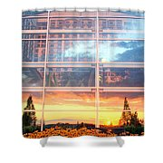 Involved With The World Shower Curtain