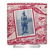 Inwood Chatter, 1943 Shower Curtain