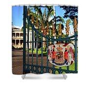 'iolani Palace Shower Curtain