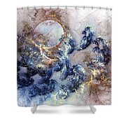 Ion Storm Shower Curtain