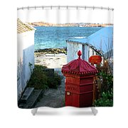 Iona Post Office Shower Curtain