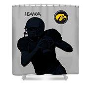 Iowa Football  Shower Curtain