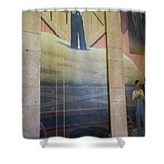 Iowa State Mural Shower Curtain