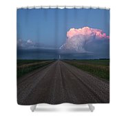 Iowa Supercell Shower Curtain