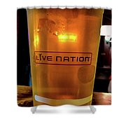 Ipa Beer In Live Nation Cup At Shoreline Amphitheatre During Dead And Company Shower Curtain
