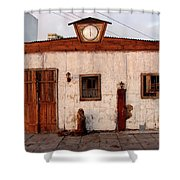 Iquique Chile Cantina Shower Curtain
