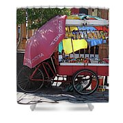 Iquique Chile Street Cart Shower Curtain