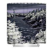 iR Scene no. 13 Shower Curtain