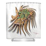 Iraiviona Shower Curtain