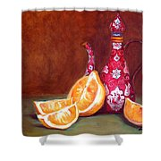 Iranian Lemons Shower Curtain