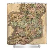Ireland 1831 Shower Curtain