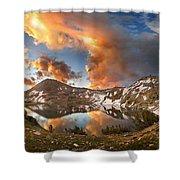 Ireland Lake Sunrise - Yosemite Shower Curtain