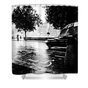 Ireland Rain Shower Curtain