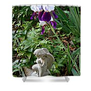Iris Canopy Shower Curtain