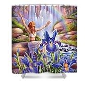 Iris - Fine Tune Shower Curtain