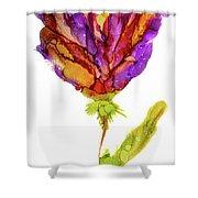 Iris Flower 2 Shower Curtain