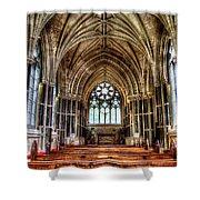 Irish Abbey Shower Curtain