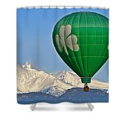 Irish Balloon Shower Curtain