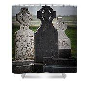 Irish Cemetery P7010429 Shower Curtain