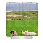 Irish Coast Shower Curtain