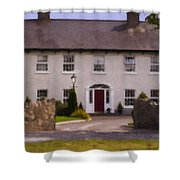 Irish Country Estate Riverstown Ireland Shower Curtain