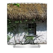 Irish Farm Cottage Window County Cork Ireland Shower Curtain