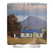 Irish Farmhouse Near Croagh Patrick Shower Curtain
