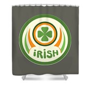 Irish Shower Curtain