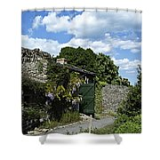 Irish Garden County Clare Shower Curtain