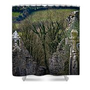 Irish History In The Countryside Shower Curtain