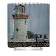 Irish Lighthouse P7010448 Shower Curtain