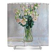 Irish Rose Shower Curtain